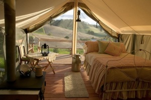 This is not camping. This is glamping